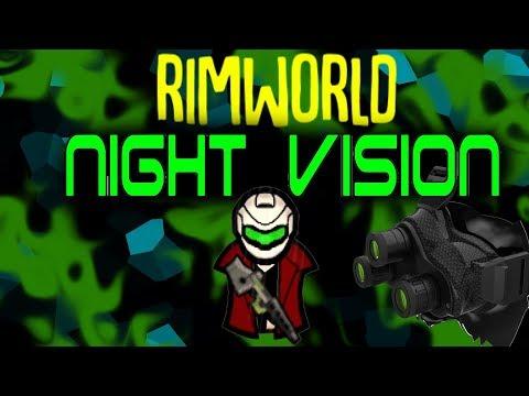 Night Vision! Rimworld Mod Showcase