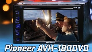Pioneer AVH-180DVD Stereo - In-Depth Review 2016