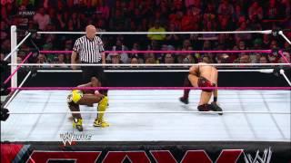 Kofi Kingston knocks out The Miz with Trouble in Paradise