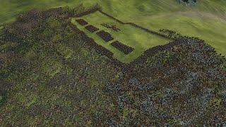 3000 ROMANS vs 12500 BARBARIANS - ROME 2: Total War