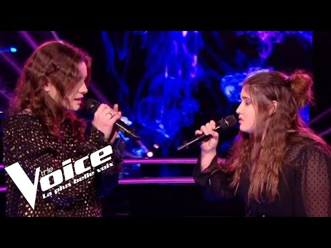 Juliette Armanet (L'amour en solitaire) | Capucine vs Sherley Paredes | The Voice France 2018...