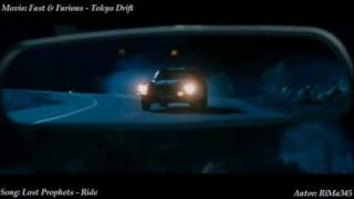 Fast & Furious - Tokyo Drift - Lost Prophets - Ride (HQ)