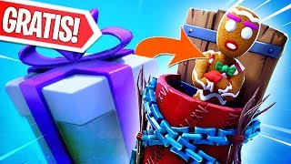 FREE LIVE COOKIE UNLOCK!! NEW GIFT OPEN AT 15:00 PM! Fortnite Battle Royale LIVE