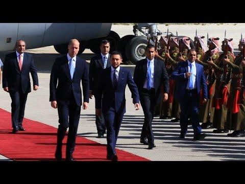وصول الامير وليام الى عمان في مستهل جولة في الشرق الأوسط