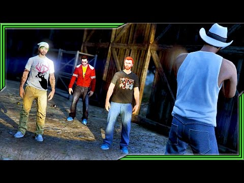 GRAND THEFT ALIEN!! Episode #4 - The Weed Farmer (GTA 5 CINEMATIC)