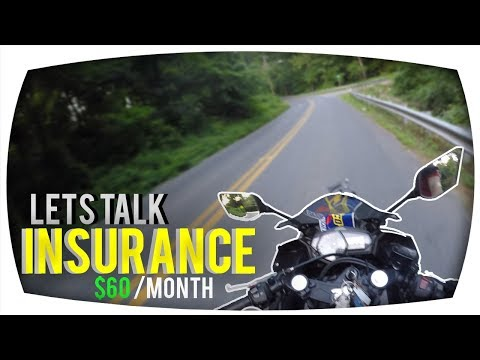 Cost Of Insurance For A beginner Motorcycle Rider!
