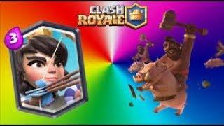 ¡¡EL MEJOR MAZO CON MONTAPUERCOS Y PRINCESA!! - Clash Royale [BloDz]