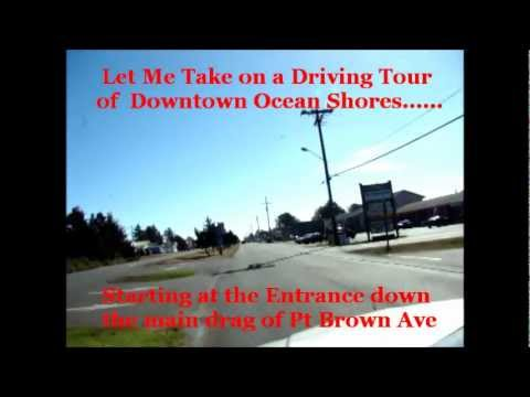 Downtown Ocean Shores Wa Oct 2012 Youtube