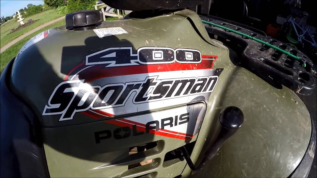 How to fix a jammed shifter on your Polaris Sportsman ATV 4 Wheeler