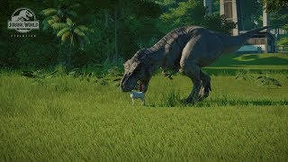 Jurassic World Evolution: Every Carnivore Hunting a Goat
