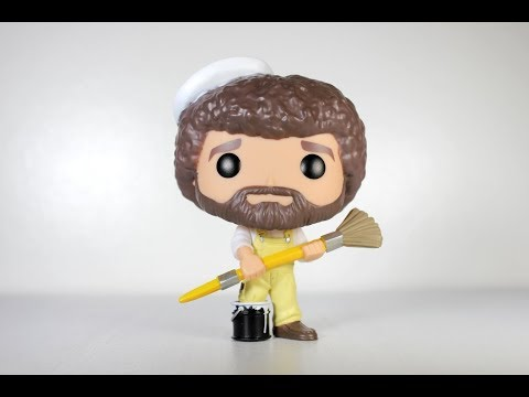 BOB ROSS with BRUSH Funko Pop review