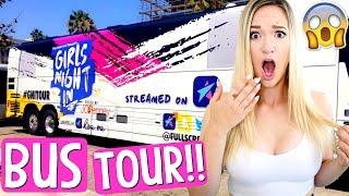 BUS TOUR!! GIRLS NIGHT IN 2016!! AlishaMarieVlogs