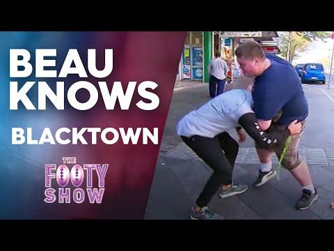 Beau Knows Blacktown | NRL Footy Show