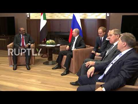 Russia: Putin finds 'good economic prospects' with counterpart al-Bashir in Sochi