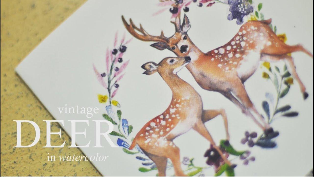 Paint Color Reindeer