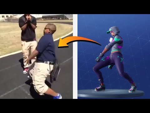 *NEW* DIP EMOTE IN REAL LIFE ! Fortnite Battle Royale