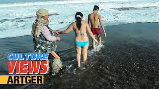 Extreme Ice Bath In Mongolia - Submerged In Super Sub-Zero | VIEWS