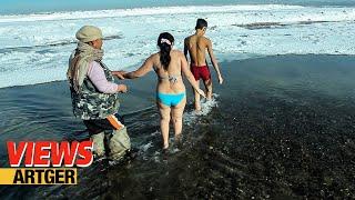 Video Extreme Ice Bath In Mongolia - Submerged In Super Sub-Zero | VIEWS download MP3, 3GP, MP4, WEBM, AVI, FLV Juni 2018