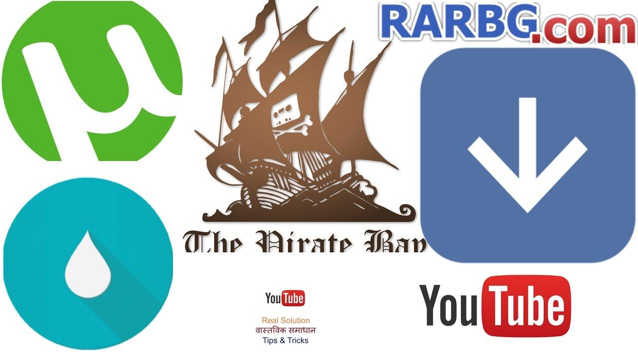 top 3 torrenting sites 2018
