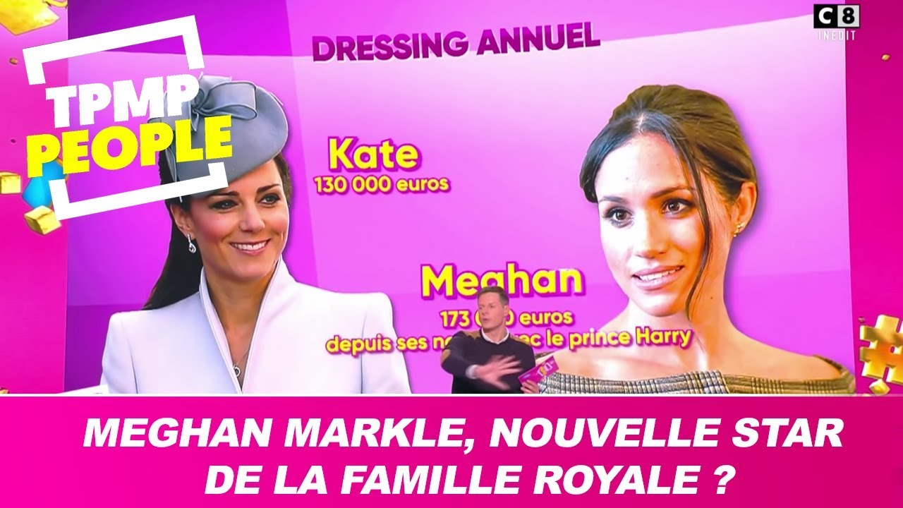 Meghan Markle est-elle la nouvelle star de la famille royale ? Le débat de TPMP People