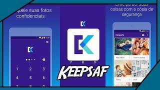 Como Fazer  Backup De Fotos e VÍdeos Pelo Celular (Keepsafe) screenshot 1