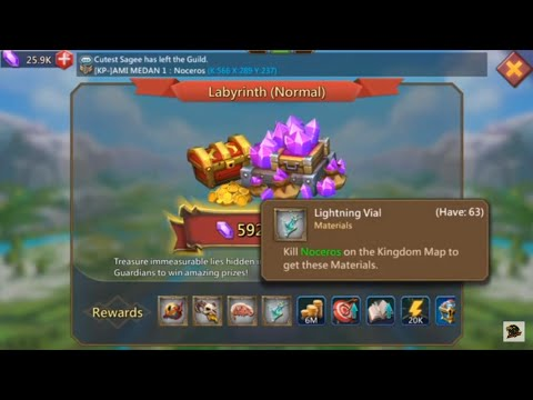 Best Way To Do Labyrinth! Lords Mobile
