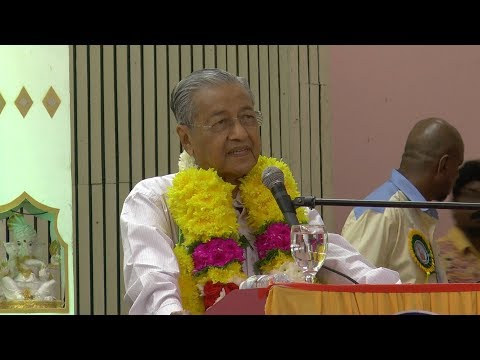 Tun M: Indian community has power to decide outcome of GE14