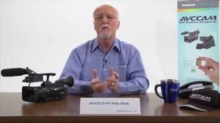 AG-HMC40 AVCCAM كاميرا الفيديو: ''كيف يمكنني استخدام استخدام مشهد الملفات؟''