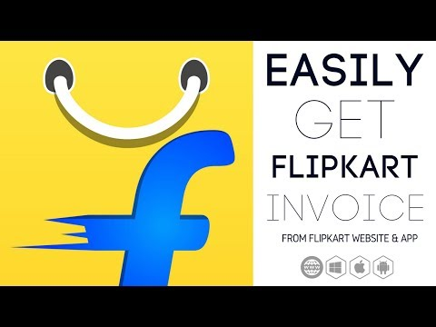 Get Flipkart Invoice/Bill For Your Orders Via Email [With