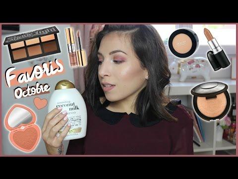 Les favoris beauté et maquillage d'octobre par Elsamakeup