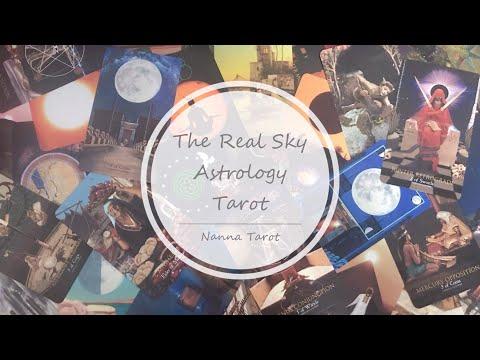 開箱  天空占星術塔羅牌 • The Real Sky Astrology Tarot // Nanna Tarot