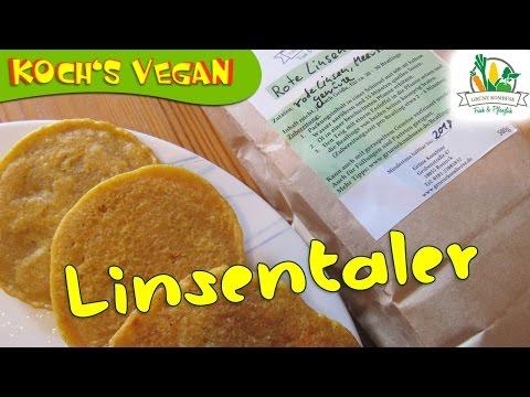 Vegane Bratlinge à la Grüne Kombüse - Vegane Burger