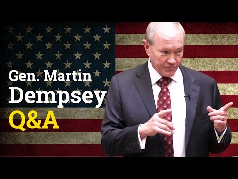 General Martin Dempsey Q&A with UCD Literary & Historical Society (2017)