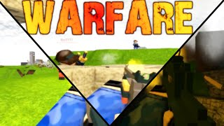 ROBLOX Gameplay/Review: Warfare! | Let's Play Commentary w/ Friends | Night Fight