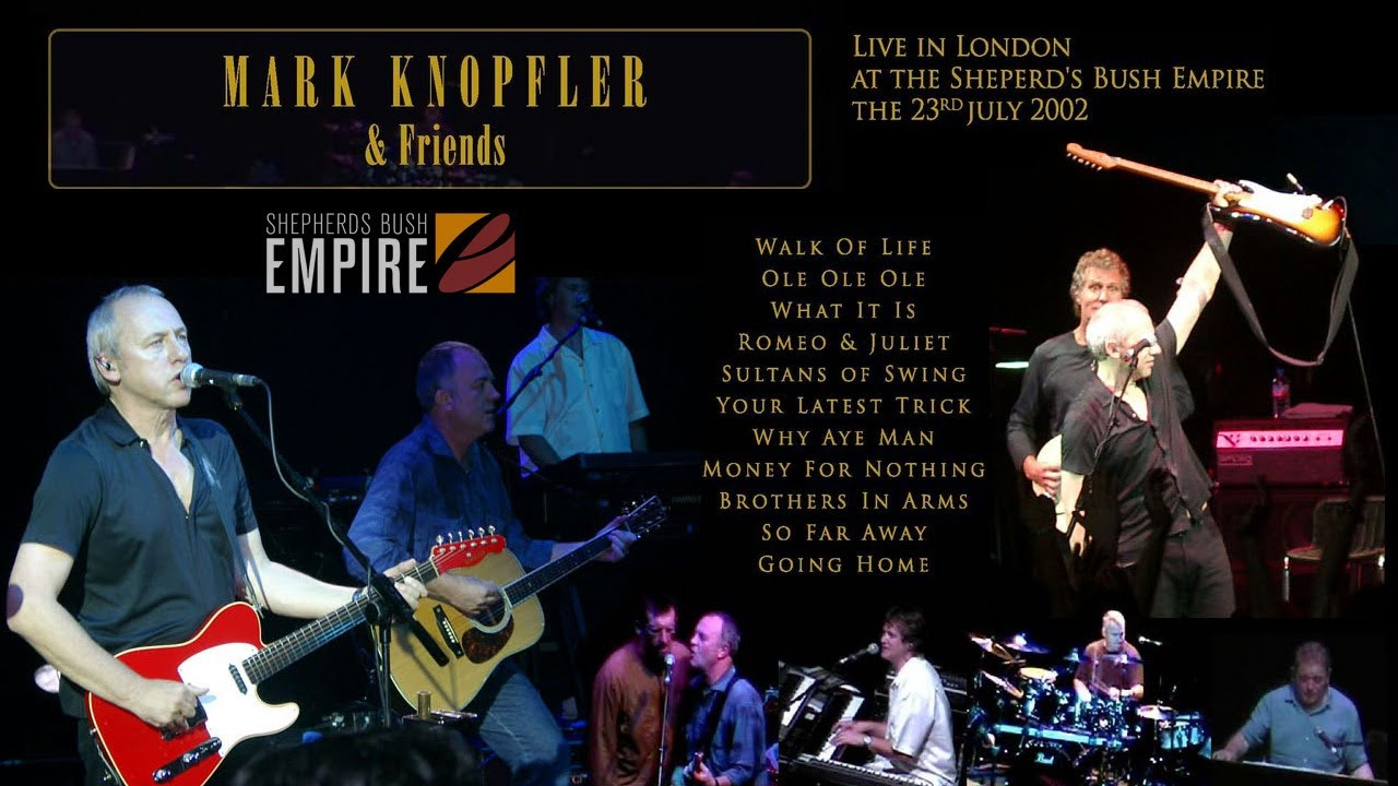 Mark Knopfler And Friends Live In London 2002 July 23rd