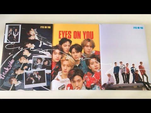 ♡Unboxing GOT7 갓세븐 8th Mini Album Eyes On You 아이즈온유 (Eyes, On & You Ver.)♡