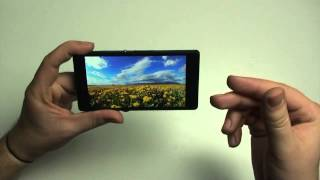Sony Xperia Z Hands On Test - German / Deutsch ►►notebooksbilliger.de