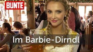 Uschi Glas - Ihre Stieftochter als Barbie auf der Wiesn   - BUNTE TV