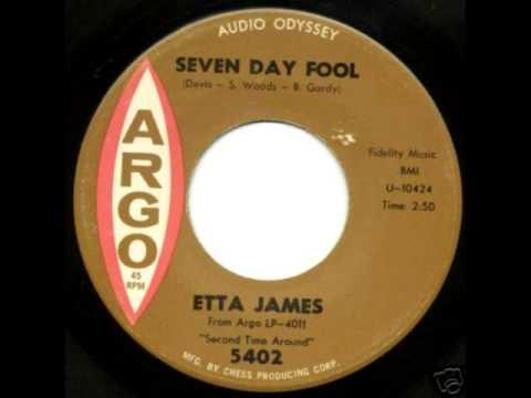 ETTA JAMES - SEVEN DAY FOOL - NORTHERN SOUL RECORDS