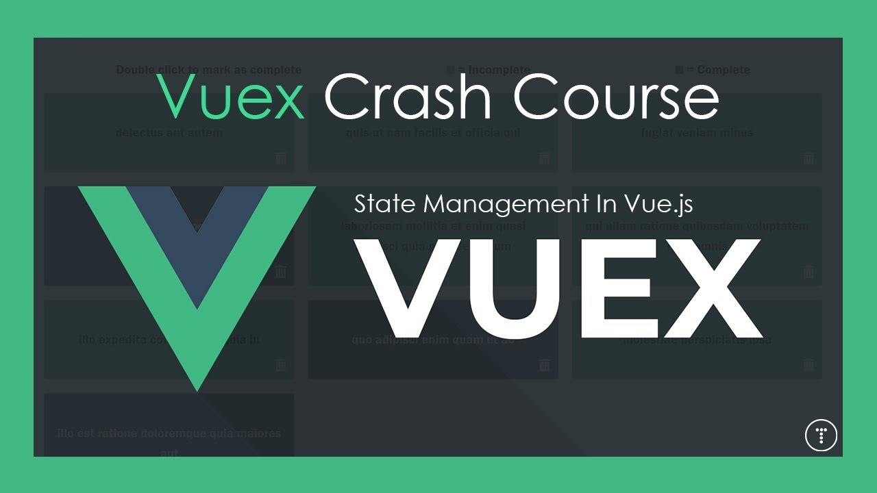 Vuex Crash Course | State Management