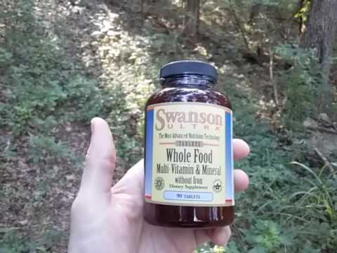 Nutrition Supplement Update - Swanson Ultra Whole Food Multi Vitamin & Mineral Suppliment