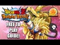 Surpassing All F2P Guide! NO ITEMS! - Dragon Ball Z Dokkan Battle Tutorial