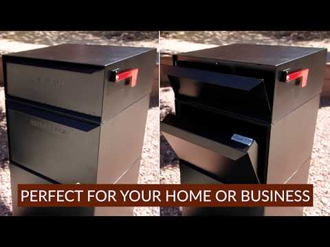 USPS Approved Curbside Package Mailbox by dVault - Full Service Vault