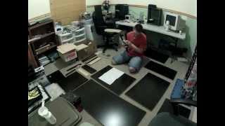 Storage Desk Build Timelapse