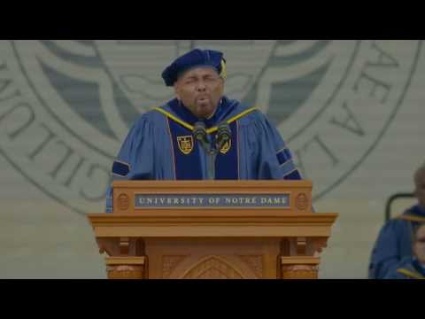 Laetare Medal Speech at 2015 University of Notre Dame Commencement