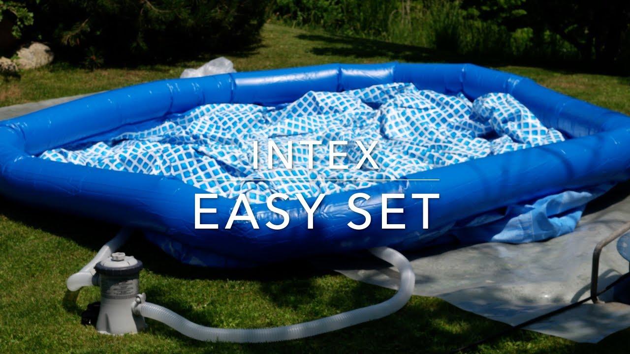 monteringsanvisning intex pool