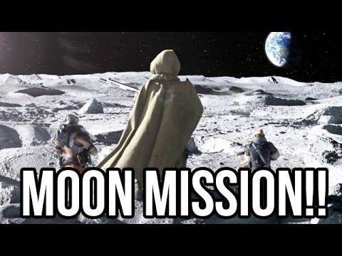 Destiny - FIRST EVER MOON MISSION!! (Campaign PS4 Gameplay ...