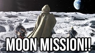 Destiny - FIRST EVER MOON MISSION!! (Campaign PS4 Gameplay 1080p HD)