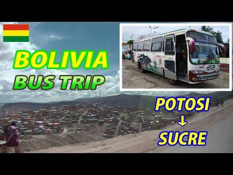 BOLIVIA BUS TRIP POTOSI → SUCRE