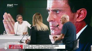 "Valls règle ses comptes avec Hollande: ""C'est une bagarre entre has-been de la politique"""